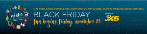 Black Friday at Redmond Town Center