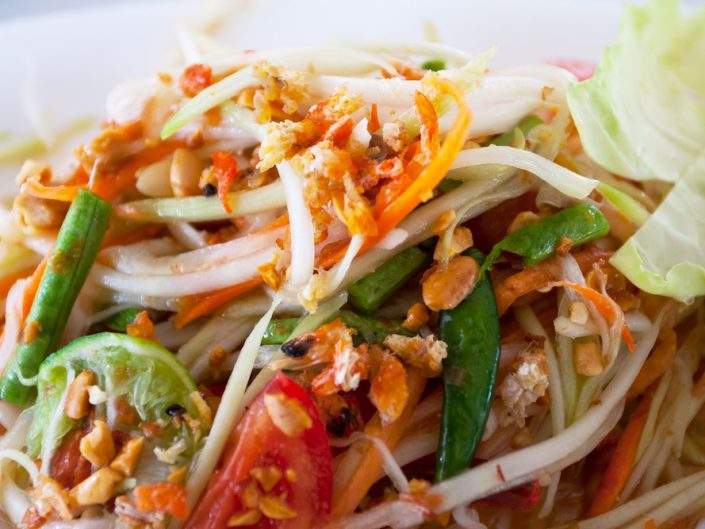 Green Papaya Salad Thai Ginger