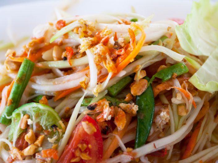 Green Papaya Salad Thai Ginger