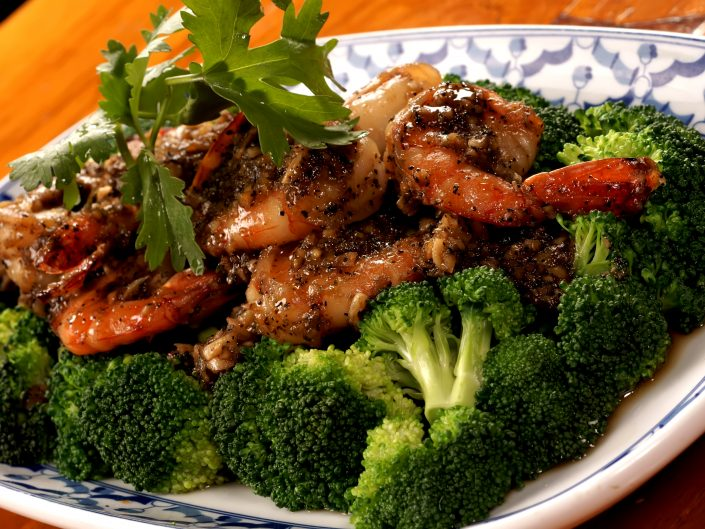 Anti-Inflammatory-Dish-Thai-Ginger-Garlic-Prawns