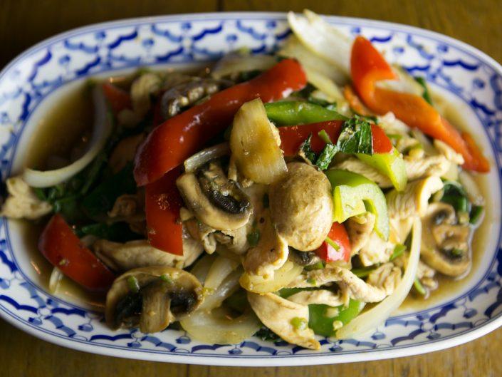 Phad-Bai-Kaplau-Garlic