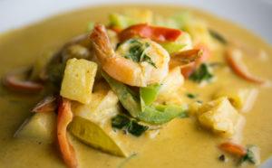 Curry Pineapple Prawn