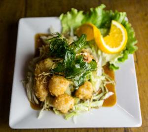 ginger scallops