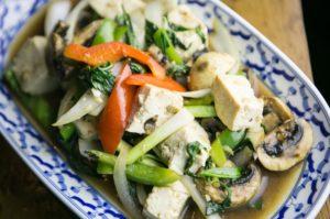 unique flavors of Thai food