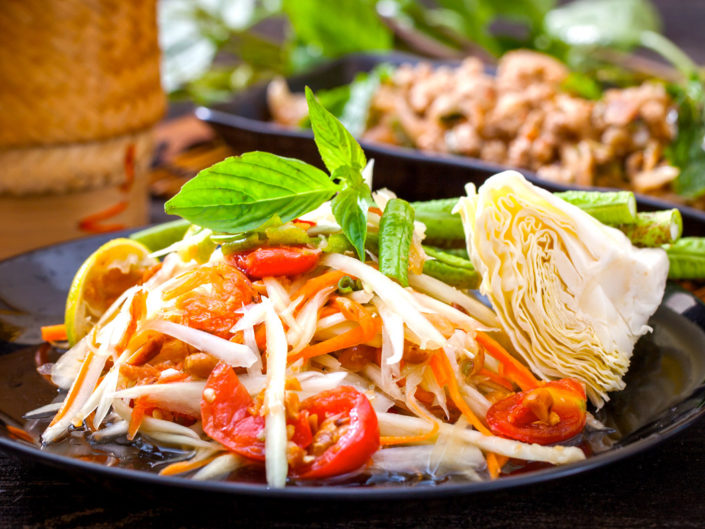 unique flavors of Thai food