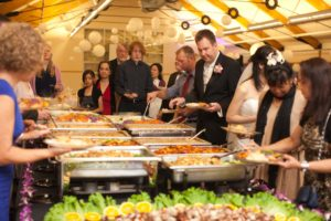 Thai Ginger Wedding catering