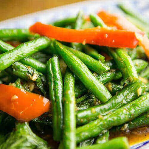 PHAD THUA (Spicy Green beans)