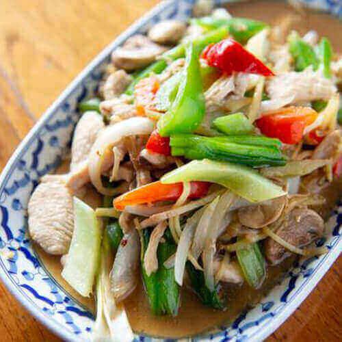 Thai Ginger Special