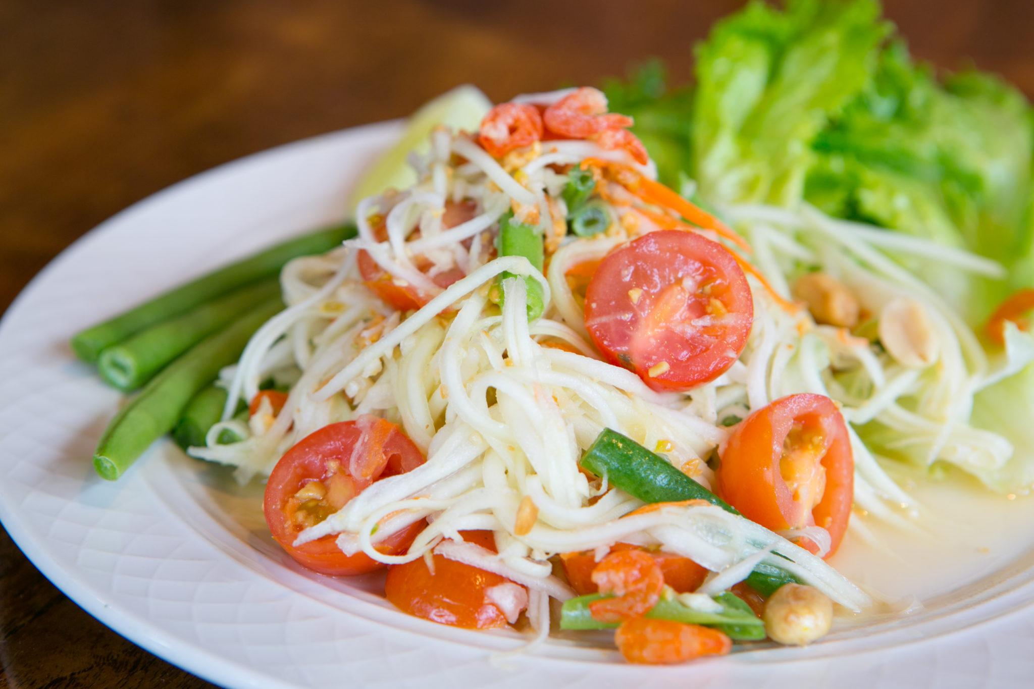 Staples of Thai street food