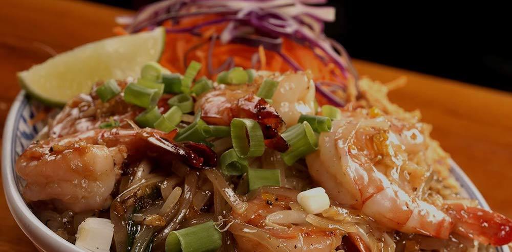 Phad Thai Shrimp